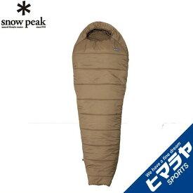 スノーピーク snow peak マミー型シュラフ ミリタリースリーピングバッグ サンドストーン BDD-050SS