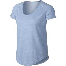 ナイキ Tシャツ 半袖 レディース ブリーズ 10K ジャガード ショートスリーブ トップ 891175-415 NIKE