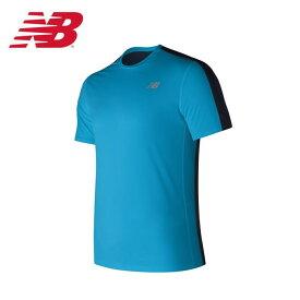 5ab4d71c55b9d ニューバランス スポーツウェア 半袖Tシャツ メンズ アクセレレイトショートスリーブTシャツ AMT73061-