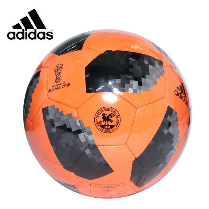 アディダス サッカーボール 5号球 検定球 テルスターWC 手縫い AF5853OBK adidas