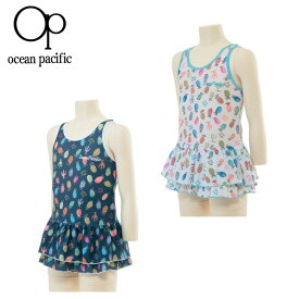 オーシャンパシフィック Ocean Pacific ワンピース 水着 女の子 ジュニア ワンピース 568-800