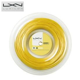 ルキシロン テニスガット 硬式 ロールガット ポリエステル 4GROUGH125 フォージー Reel WRZ990144 LUXILON