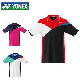 ヨネックス テニスウェア バドミントンウェア ゲームシャツ メンズ レディース スタンダードサイズ ゲームポロシャツ 10263 日本バドミントン協会合格品 YONEX