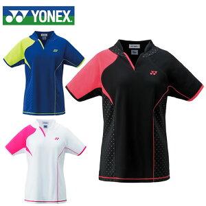 ヨネックス テニスウェア バドミントンウェア ゲームシャツ ジュニア キッズ JUNIOR GIRL 20443J 日本バドミントン協会審査合格品 YONEX