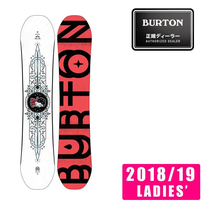 バートン BURTON スノーボード 板 レディース Women's Talent Scout Snowboard タレントスカウト 132181