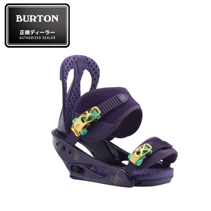 バートン BURTON スノーボード ビンディング レディース Citizen Re:Flex Snowboard Binding シチズン 105401