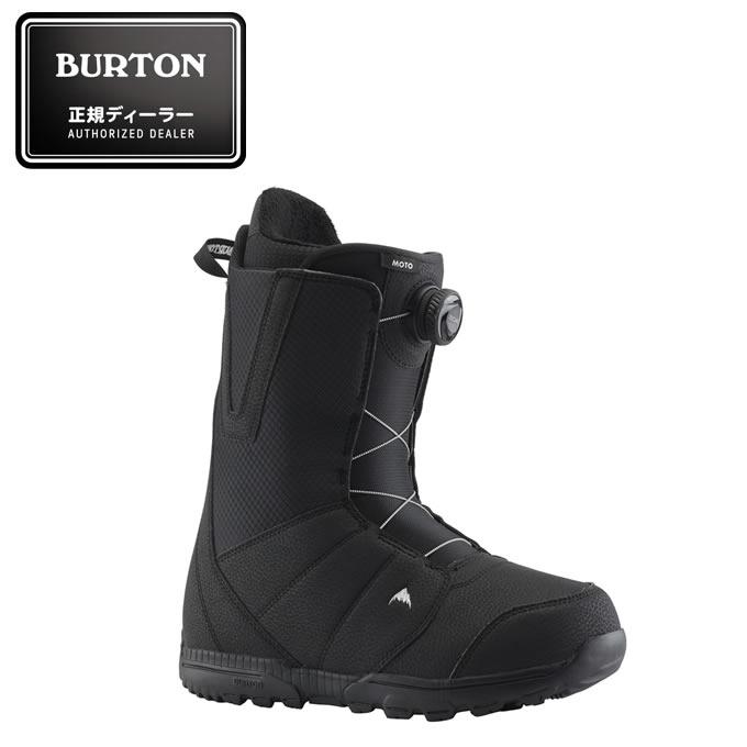 バートン BURTON スノーボードブーツ ダイヤルタイプ メンズ Men's Moto Boa Snowboard Boot BK モト ボア 131761