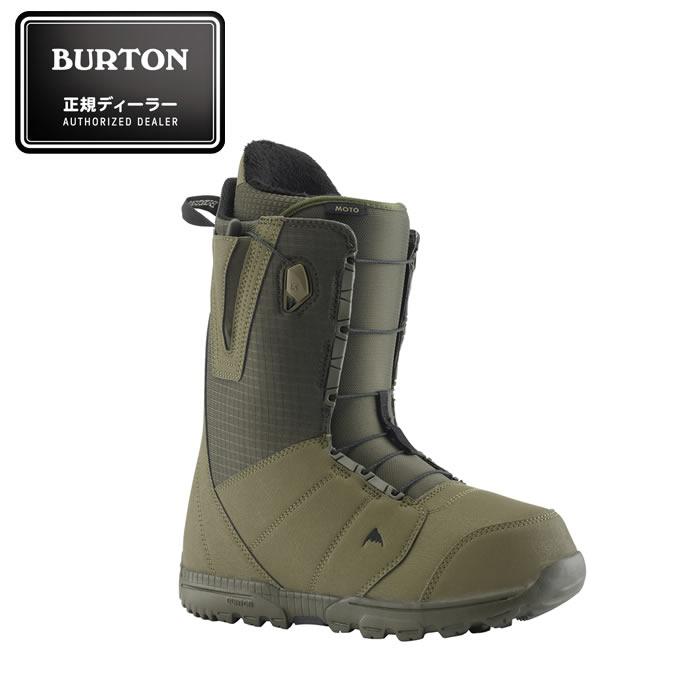 バートン BURTON スノーボードブーツ ひもタイプ メンズ Men's Moto Snowboard Boot ASIAN FIT モト アジアンフィット 104371