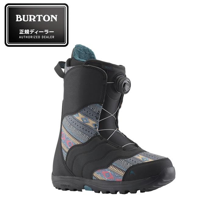 バートン BURTON スノーボードブーツ ダイヤルタイプ レディース Women's MINT BOA Snowboard Boot ミント ボア スノーボード ブーツ 131771