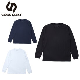 ビジョンクエスト VISION QUEST Tシャツ 長袖 ジュニア 保温機能クルーネックロンT VQ451503H72