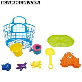 カシマヤ KASHIMAYA おもちゃ ミズスナアソビ8テンセット 99082