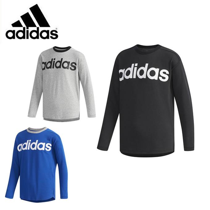 アディダス Tシャツ 長袖 ジュニア SPORT ID リラックス長袖Tシャツ FKM06 adidas