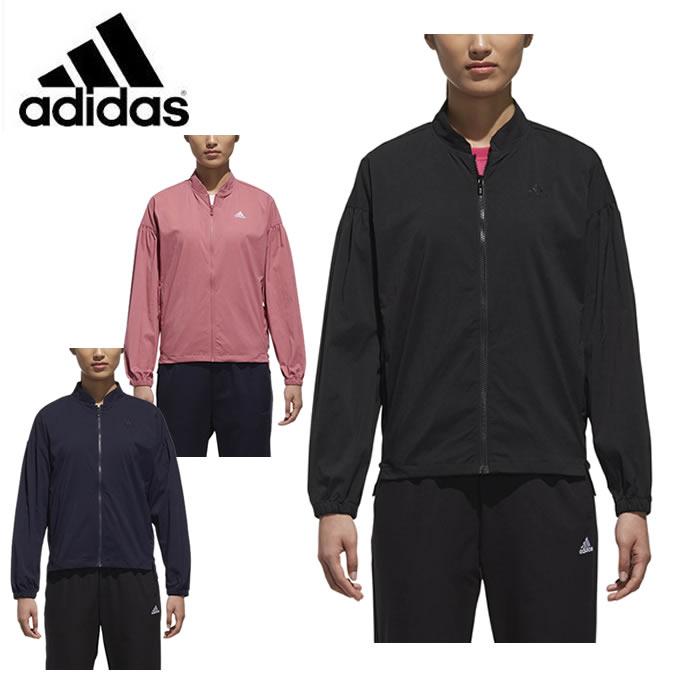 アディダス スポーツウェア ジャケット レディース SPORT ID ビッグロゴストレッチタッサージャケット FAT45 adidas