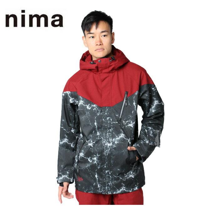 ニーマ nima スノーボードウェア ジャケット メンズ SNB JK NB-4002