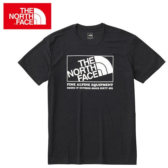 ノースフェイス Tシャツ 半袖 メンズ ダイアゴナルメッシュロゴティー Diagonal Mesh Logo Tee NT11868 THE NORTH FACE