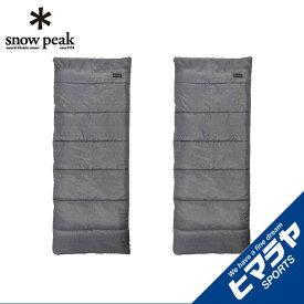 【ポイント5倍 6/17 9:59まで】 スノーピーク 封筒型シュラフ Entry Pack SS エントリーパックSS SET-105 snow peak