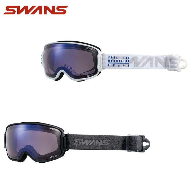スワンズ スキー スノーボード ゴーグル メンズ レディース 眼鏡対応 RIDGELINE-U/MDH-SC-PAF SWANS スキーゴーグル ボードゴーグル