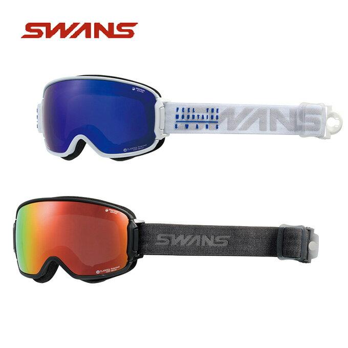 スワンズ スキー スノーボード ゴーグル メンズ レディース 眼鏡対応 偏光 RIDGELINE-MPDH-SC-MIT-PAF SWANS スキーゴーグル ボードゴーグル
