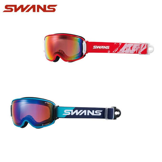 スワンズ スキー スノーボード ゴーグル メンズ レディース 眼鏡対応 偏光 RIDGELINE-MPDH-SC-PAF SWANS スキーゴーグル ボードゴーグル