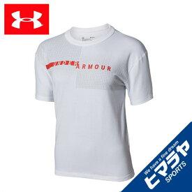 アンダーアーマー Tシャツ 半袖 レディース グラフィックワードマークガールフレンドクルー ライフスタイル WOMEN 1317889-100 UNDER ARMOUR