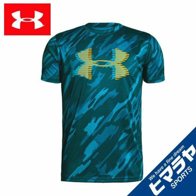 アンダーアーマー Tシャツ 半袖 ジュニア テックビッグロゴプリント 1331688-489 UNDER ARMOUR