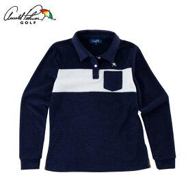 アーノルドパーマー arnold palmer ゴルフウェア ポロシャツ 長袖 レディース 長袖シャツ AP220402H01