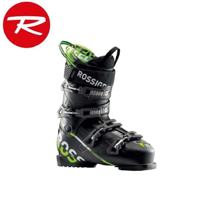 ロシニョール ROSSIGNOL スキーブーツ メンズ SPEED 80 BLACK GREEN RBH8050