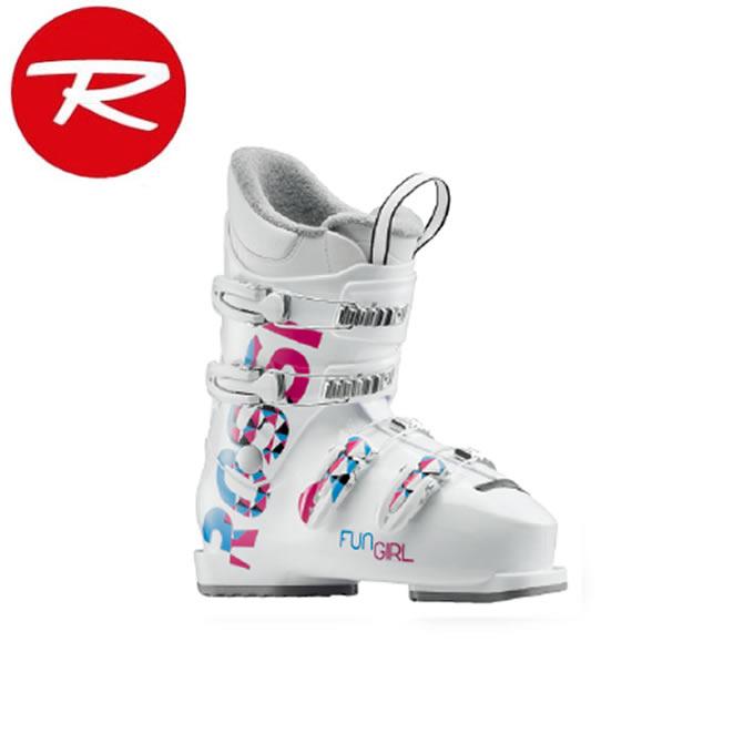 ロシニョール ROSSIGNOL ジュニアスキーブーツ ジュニア FUN GIRL J4 - WHITE RBG5080-H