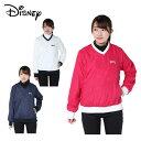 ディズニー Disney ゴルフウェア プルオーバー レディース Vネック 8486-0385