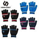 ビジョンクエスト VISION QUEST 手袋 ジュニア マジックニットグローブ VQ430108H04