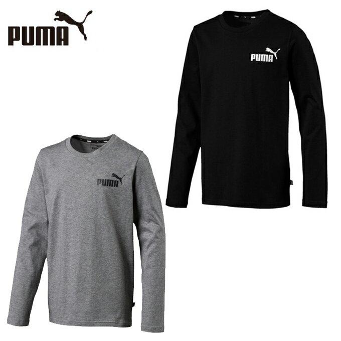 プーマ Tシャツ 長袖 ジュニア キッズ ESS LS Tシャツ 853677 PUMA