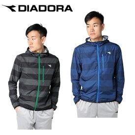 ディアドラ テニスウェア ウィンドブレーカー メンズ ポケッタブルフーディー DTP8182 DIADORA