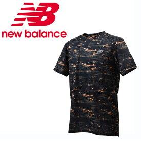 ニューバランス スポーツウェア 半袖Tシャツ メンズ R360 グラフィックショートスリーブTシャツ JMTR8614 GXY new balance