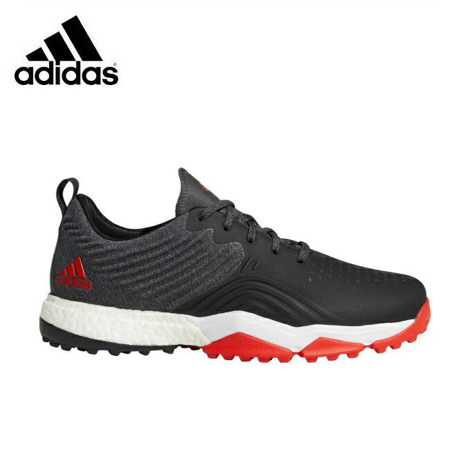 アディダス ゴルフシューズ スパイクレス メンズ Adipower 4orged S Wide アディパワー フォージド S ワイド B37175 BAY92 adidas