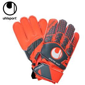 ウールシュポルト uhlsport サッカー キーパーグローブ メンズ レディース ジュニア エアロレッド スターターソフト 1011063-02