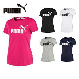 プーマ Tシャツ 半袖 レディース ESS 半袖Tシャツ 853889 PUMA