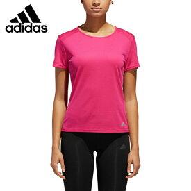 アディダス スポーツウェア 半袖Tシャツ レディース RUN半袖Tシャツ DN8656 ENB10 adidas
