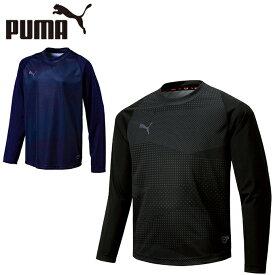 プーマ サッカーウェア 長袖シャツ ジュニア FTBLNXT LS グラフィックシャツ 656060 PUMA
