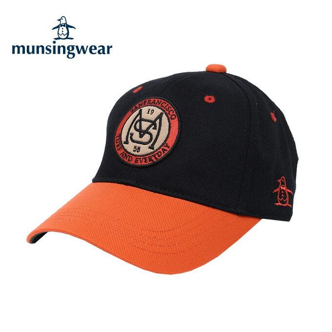 マンシング Munsingwear ゴルフ キャップ メンズ アップリケ柄 MGBMJC04