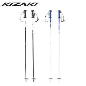 キザキ KIZAKI スキーストック メンズ レディース SLALOM スラローム KPAG-6000