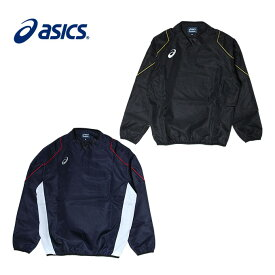 アシックス 野球 ウインドブレーカージャケットVネック ジュニア 2121A115J asics