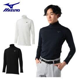 ミズノ ゴルフウェア 長袖シャツ メンズ バイオネクスト タートルネック長袖シャツ 極厚タイプ 52MJ8504 MIZUNO