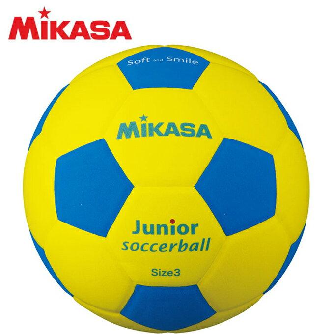 ミカサ MIKASA サッカーボール 3号 ジュニア スマイルサッカーボール3号軽量 150g SF3J-YBL