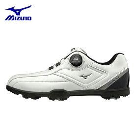 ミズノ ゴルフシューズ ソフトスパイク メンズ ライトスタイル003ボア EEE 51GM196001 MIZUNO