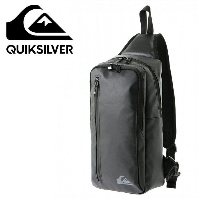 クイックシルバー QUIKSILVER ショルダーバッグ メンズ クイックブロックワンショルダー BLOCK ONE SHOULDER QBG184303-BLK