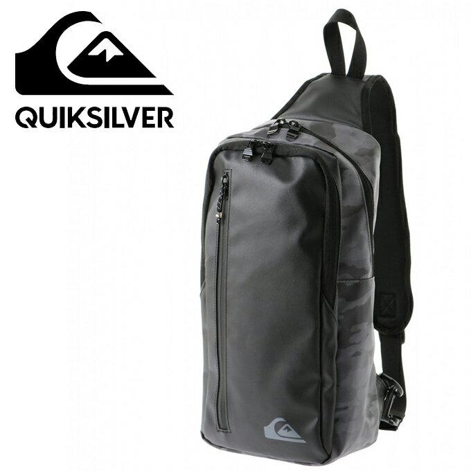 クイックシルバー QUIKSILVER ショルダーバッグ メンズ クイックブロックワンショルダー BLOCK ONE SHOULDER QBG184303-BLK1
