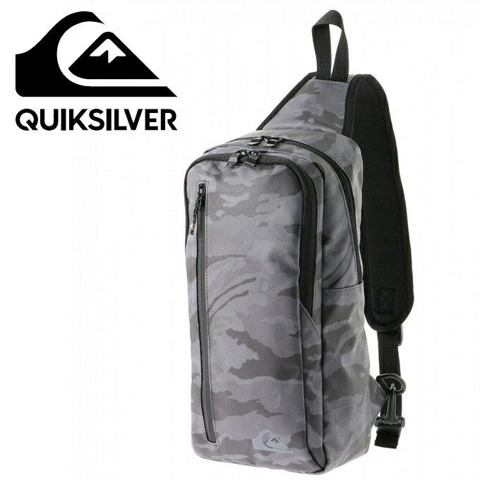 クイックシルバー QUIKSILVER ショルダーバッグ メンズ クイックブロックワンショルダー BLOCK ONE SHOULDER QBG184303-CAM