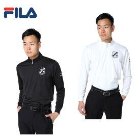 フィラ FILA ゴルフウェア ポロシャツ 長袖 メンズ ハーフZIP 788525H