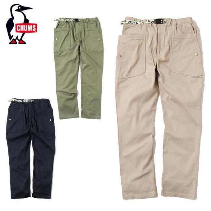 チャムス CHUMS ロングパンツ メンズ Camping Twill Pants キャンピングツイルパンツ CH03-1116