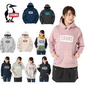 チャムス CHUMS スウェット レディース CHUMS Logo Pull Over Parka Women's チャムスロゴプルオーバーパーカー CH10-1114
